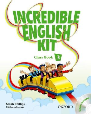 INCREDIBLE ENGLISH KIT 2ND EDITION 3. CLASS BOOK + MULTI-ROM