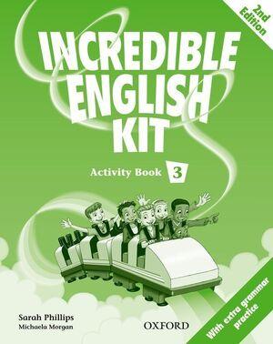 INCREDIBLE ENGLISH KIT 2ND EDITION 3. ACTIVITY BOOK