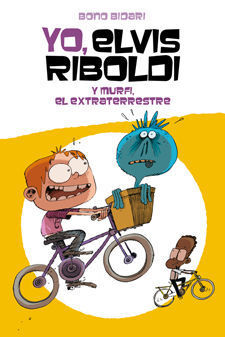 YO, ELVIS RIBOLDI, Y MURFI EL EXTRATERRESTRE