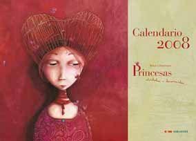 PRINCESAS CALENDARIO 2008