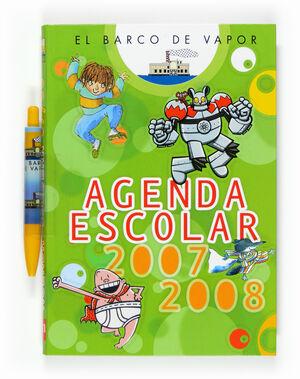 EL BARCO DE VAPOR. AGENDA ESCOLAR 2007-2008