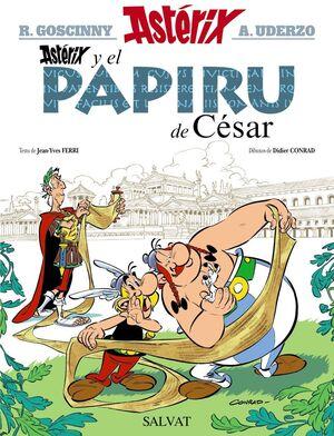 ASTÉRIX Y EL PAPIRU DE CÉSAR