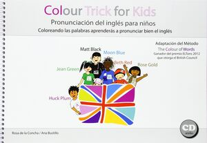 COLOUR TRICK FOR KIDS PRONUNCIACION DEL INGLES PAR