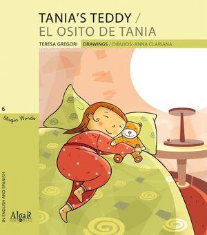 TANIA'S TEDDY