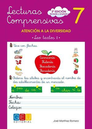 LECTURAS COMPRENSIVAS 7